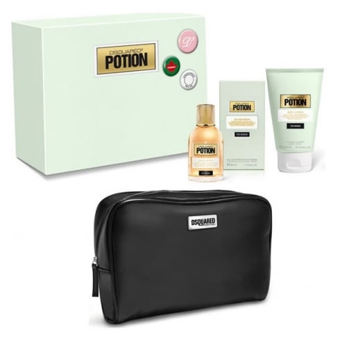 DSQUARED2 Potion EDP Spray 50ml Set 3 Pieces