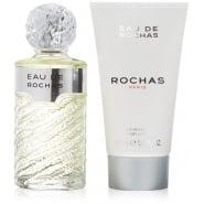 Eau de Rochas 100ml EDT Spray / 150ml Body Lotion