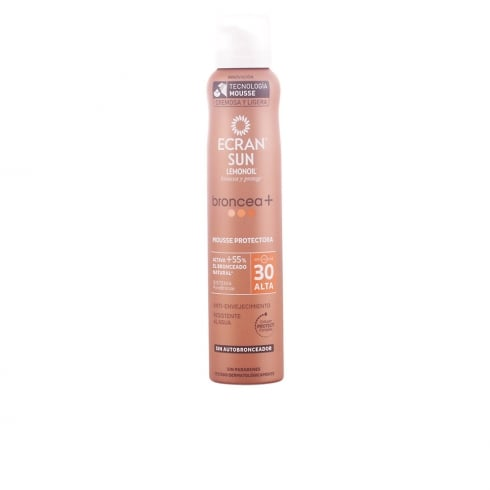 Ecran Sun Lemonoil Tans And Protect Spray Mousse SPF30 200ml