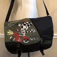 Ed Hardy Speedy Messenger Bag