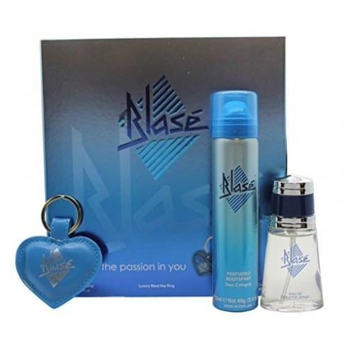 Eden Classic Blase Gift Set - 1x Blase EDT Spray + 30ml 1x Blase Body Spray 75 + Blase Key Ring
