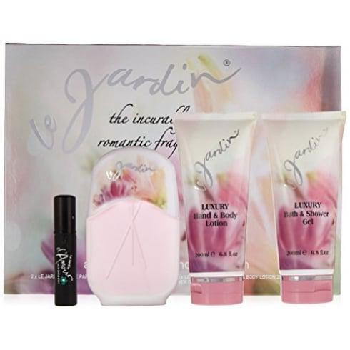 Eden Classic Le Jardin Gift Set - 100ml EDP Spray + 200ml shower Gel + 200ml Hand & Body Lotion & 20ml EDP D'Amour
