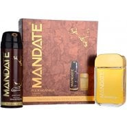 Eden Classic MANDATE 100ML EDT SPRAY + 150ML BODY SPRAY GIFT SET