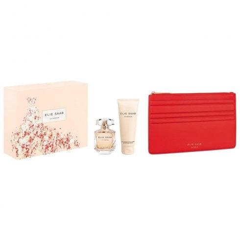 Elie Saab Le Parfum Gift Set 50ml EDT + 30ml Shower Cream + 75ml Body Lotion