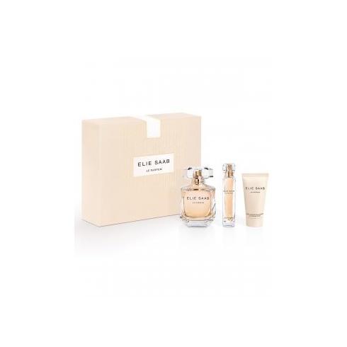 Elie Saab Le Parfum Gift Set 90ml EDP Spray + 75ml Body Lotion + 10ml EDP Mini