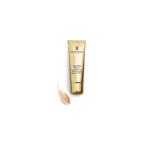 Elizabeth Arden 50ml Pure Finish Mineral Tinited Moisture Cream SPF15 Light 02