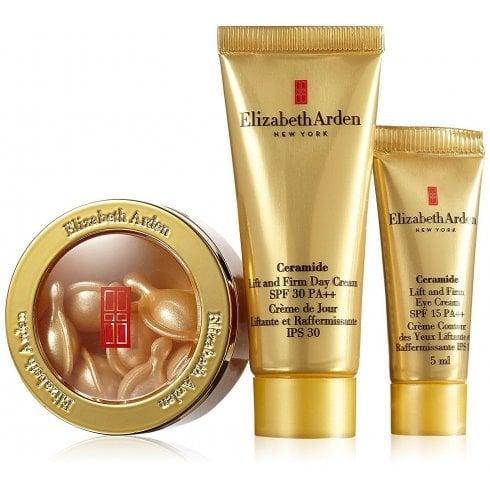 Elizabeth Arden Arden Advanced Ceramide Capsules X60 & Ceramide Cream SPF30 15ml &