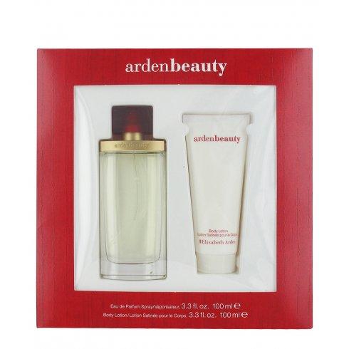 Elizabeth Arden Beauty Gift Set 100ml EDP + 100ml Body Lotion