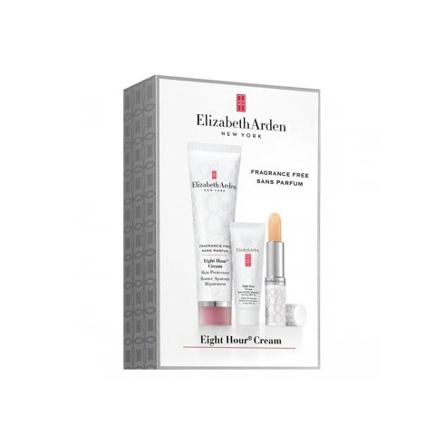 Elizabeth Arden 8 Hour Gift Set 50ml Skin Protectant + 3.7g Lip Protectant + 15ml Daily Face Moisturiser
