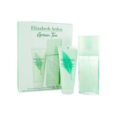 Elizabeth Arden Green Tea 100ml EDT Spray + 100ml Body Lotion
