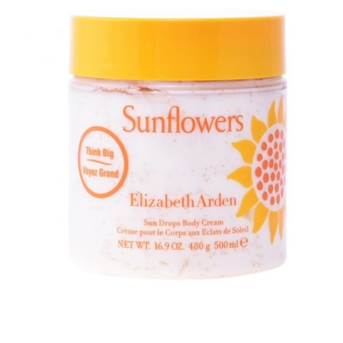 Elizabeth Arden Sunflowers 500ml Sun Drops Body Cream