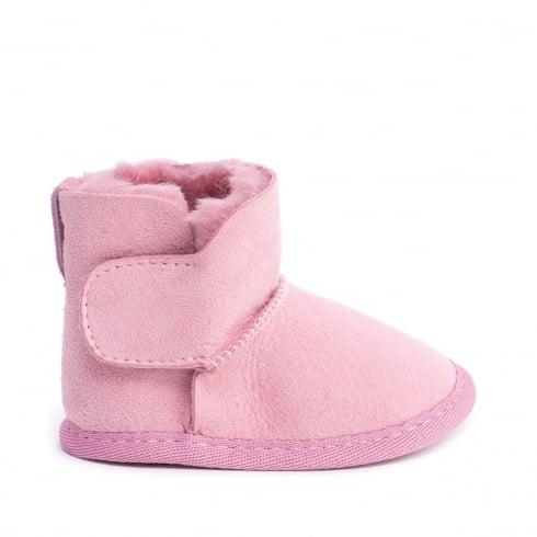 Emu Australia Baby Bootie Pink