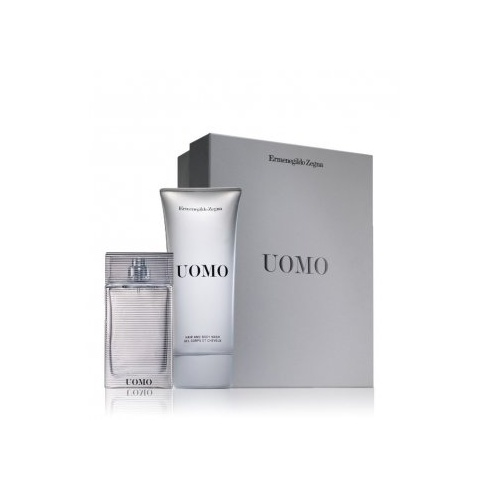 Ermenegildo Zegna Uomo Gift Set 50ml EDT + 100ml Hair & Body Wash