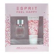 Esprit Feel Happy EDT 15ml & S/Gel 75ml