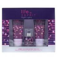 Esprit Night Lights F EDT 15ml & S/Gel 75ml & B/Lotion 75ml