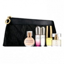 Estee Lauder 5 Piece Mini Fragrance Set with Purse