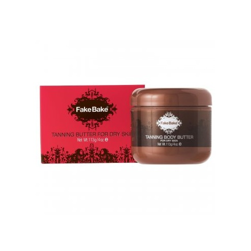 Fake Bake Tanning Body Butter for Dry Skin 113g (Boxed)