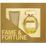 Fame and Fortune for Her Gift Set 100ml EDT Spray + 100ml Body Lotion