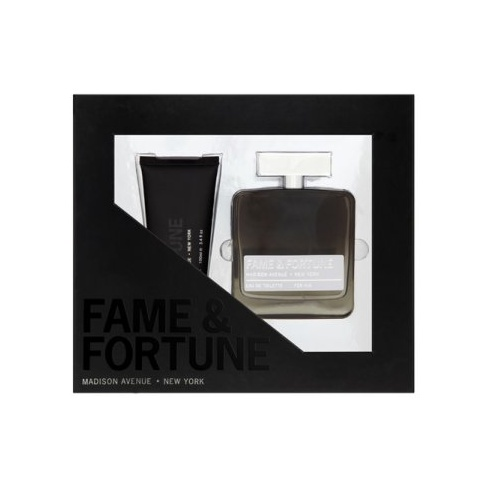 Fame and Fortune for Him Gift Set 100ml EDT Spray + 100ml Shower Gel