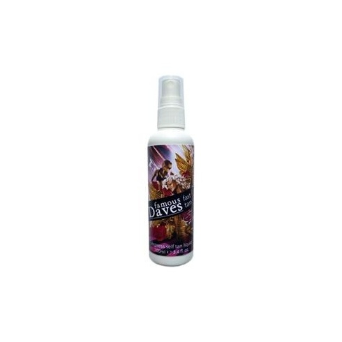 Famous Dave's Fast Tan Express Self Tan 100ml Spray