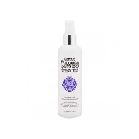 Famous Dave's Spray Tan Medium to Dark 250ml Tanning Spray