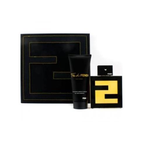 Fendi Fan di Fendi Pour Homme Gift Set 100ml EDT + 100ml Shower Gel