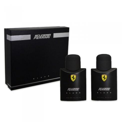 Ferrari Scuderia Black Set EDT 75ml + Asl 75ml - Set
