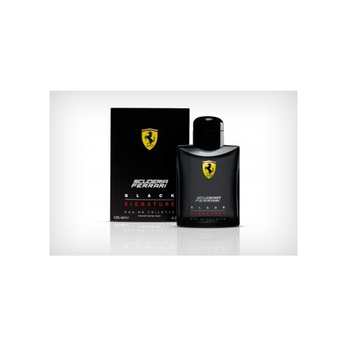 Ferrari Scuderia Black Signature 125ml EDT Spray