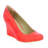 Feud Britannia Marissa Wedges - Orange