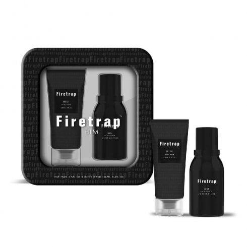 Firetrap For Him Gift Set 75ml EDT Spray + 100ml Body Wash