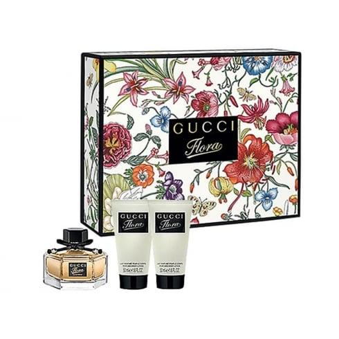 Gucci Flora by Gucci 50ml EDP Spray / 2 x 50ml Body Lotion