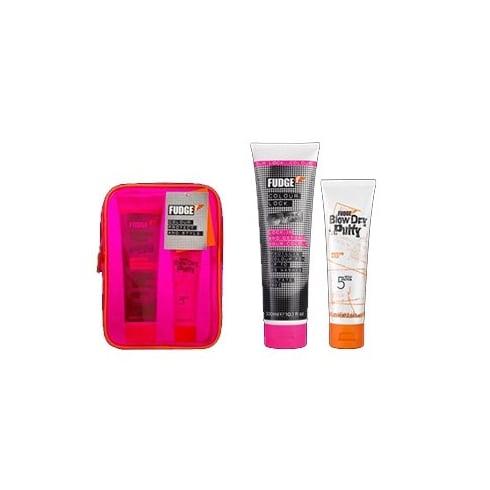 Fudge Colour Protect & Style Kit - 300ml Shampoo + 75ml Putty
