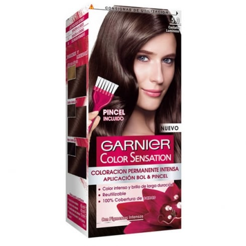 Garnier Color Sensation 5 Castaño Luminoso