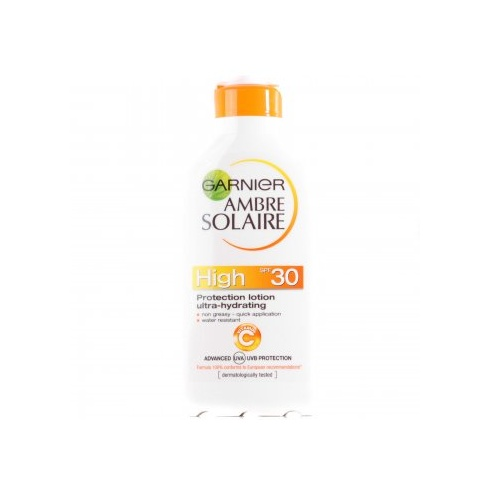 Garnier Ambre Solaire Ultra Hydrating Protection SPF30 200ml