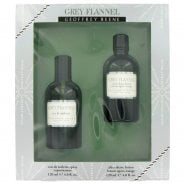 Geoffrey Beene Grey Flannel Gift Set 120ml EDT + 120ml Aftershave Lotion
