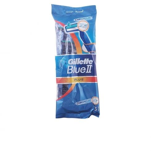 Gillette Blue II Plus 5 Units