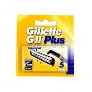 Gillette GII Plus Refill 5 Units