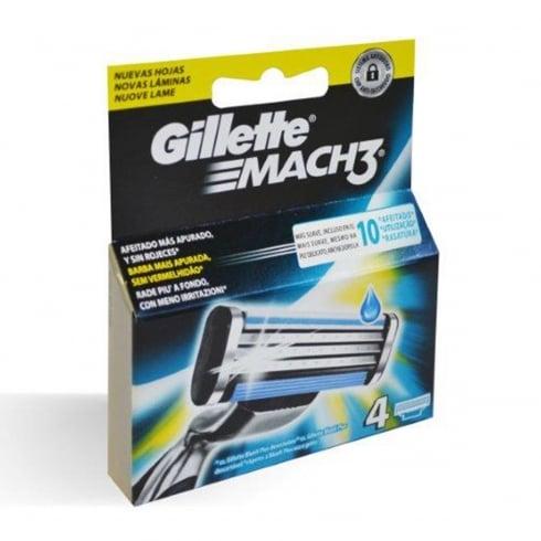Gillette Gilette Mach 3 Refill 4 Units