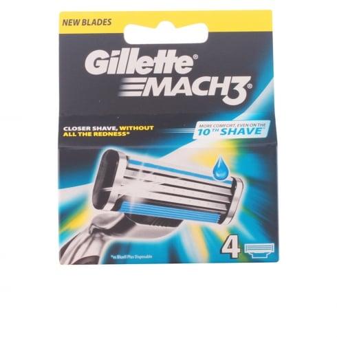 Gillette Mach3 Refill 4 Units