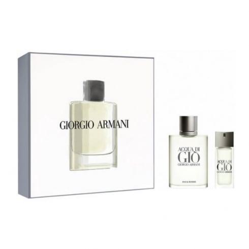 Giorgio Armani Armani Acqua Di Gio EDT Spray 100ml Set 2 Pieces