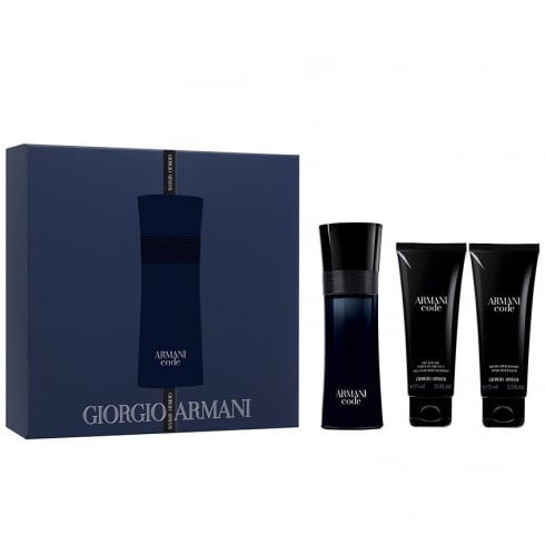 Giorgio Armani ARMANI CODE M EDT 75ML & S/G 75ML &Aftershave BALM 75ML