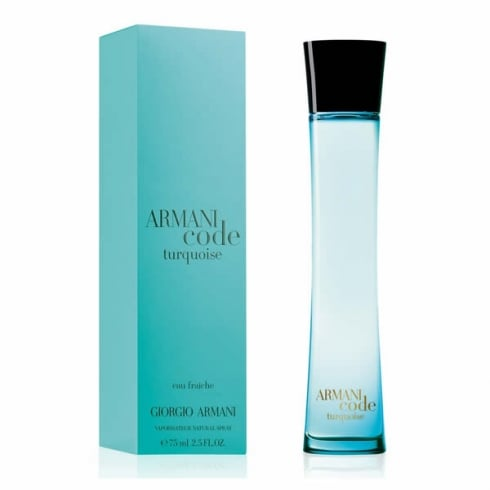 Giorgio Armani Armani Code Turquoise Femme EDT Spray 75ml