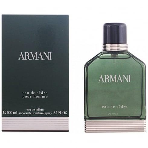 Giorgio Armani Armani Eau De Cedre EDT 100ml Spray