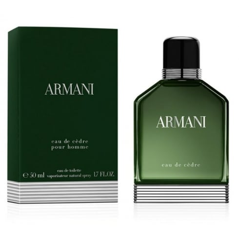 Giorgio Armani Armani Eau De Cedre EDT 50ml Spray