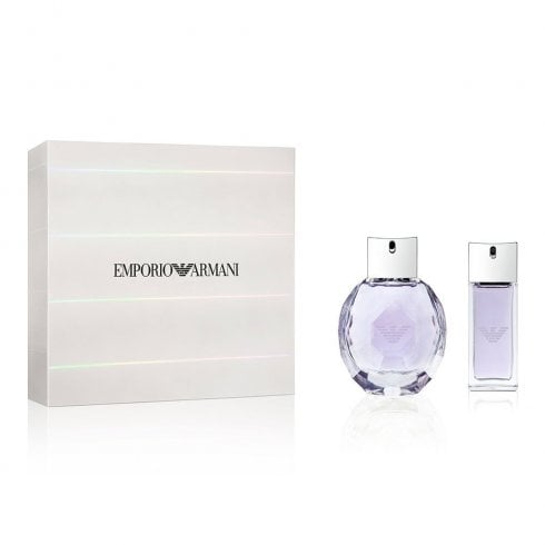 Giorgio Armani Emporio Armani Diamonds Violet Gift Set 50ml EDP + 15ml EDP