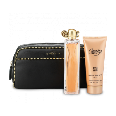Givenchy Organza Gift Set 100ml EDP + 10ml Mini EDP + Pouch