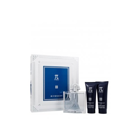 Givenchy Pi Neo Gift Set 100ml EDT + 75ml Shower Gel + 75ml Aftershave Balm
