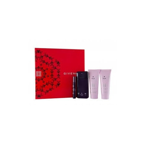 Givenchy Play Intense Gift Set 50ml EDP + 7.5ml EDP Roll-on + 75ml Body Lotion + 75ml Shower Gel