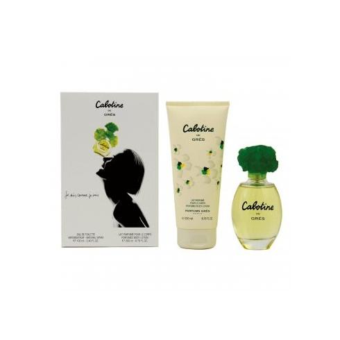 Gres Parfums Cabotine Gift Set 30ml EDT + 50ml Body Lotion