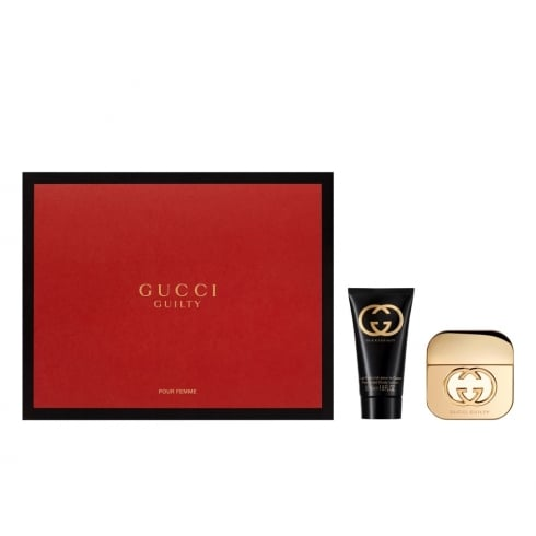 Gucci Guilty 30ml EDT Spray / 50ml Body Lotion